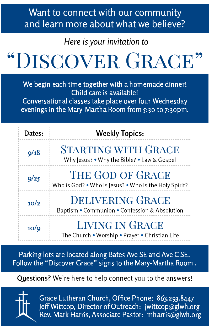Discover Grace Fall 2019