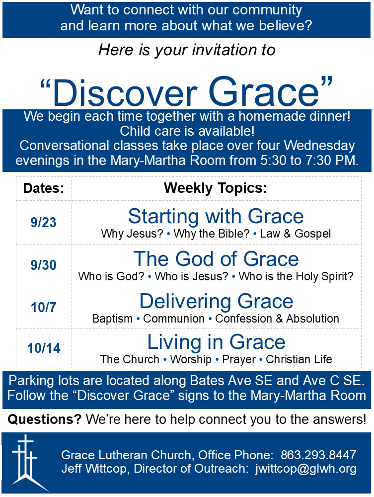 Discover Grace Fall 2020