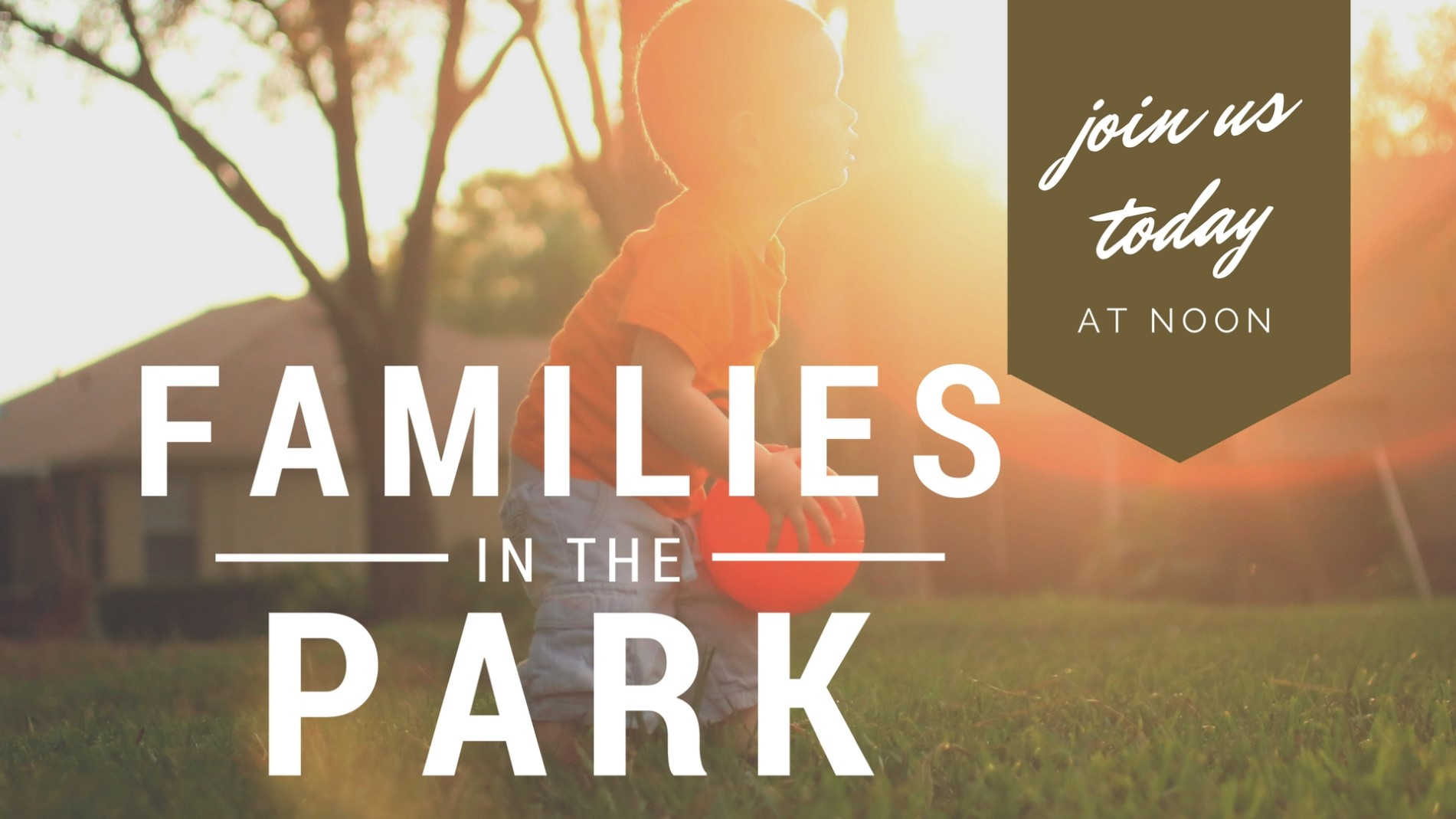 Families in the Park - generic