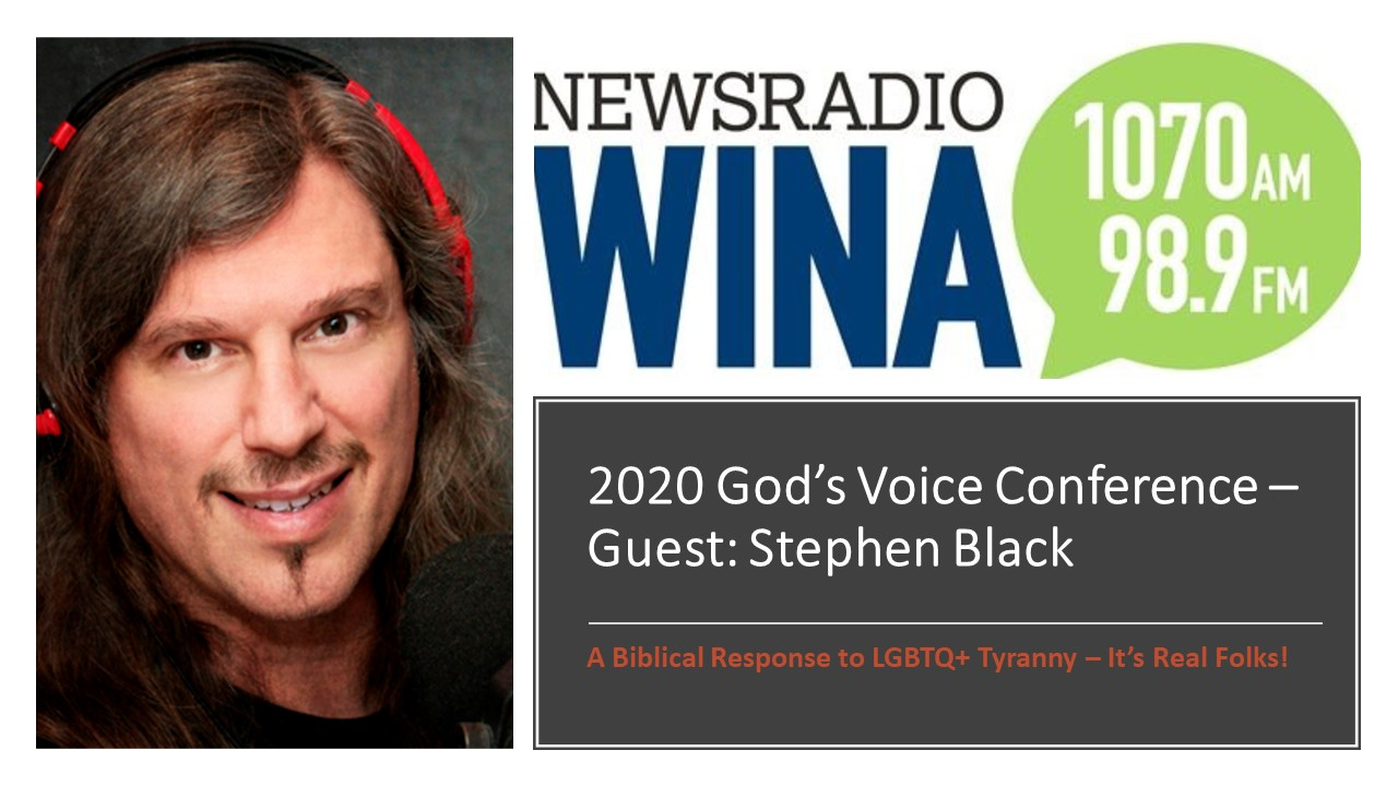 SHB - Interview Schilling Show - 2-3-2020 on God's Voice Conference 2020