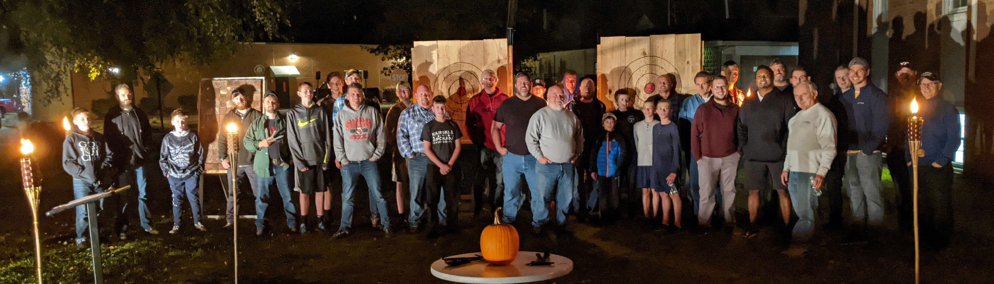 Axe Throwing 2020 - Group Shot - Cropped