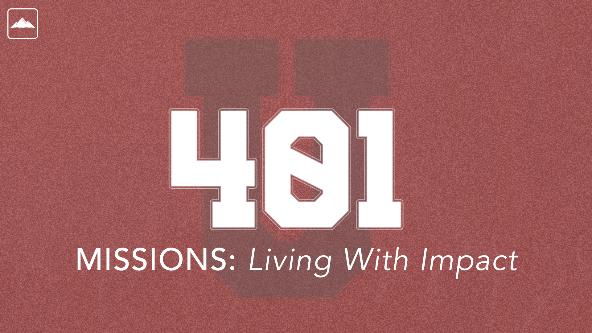 401 - Missions