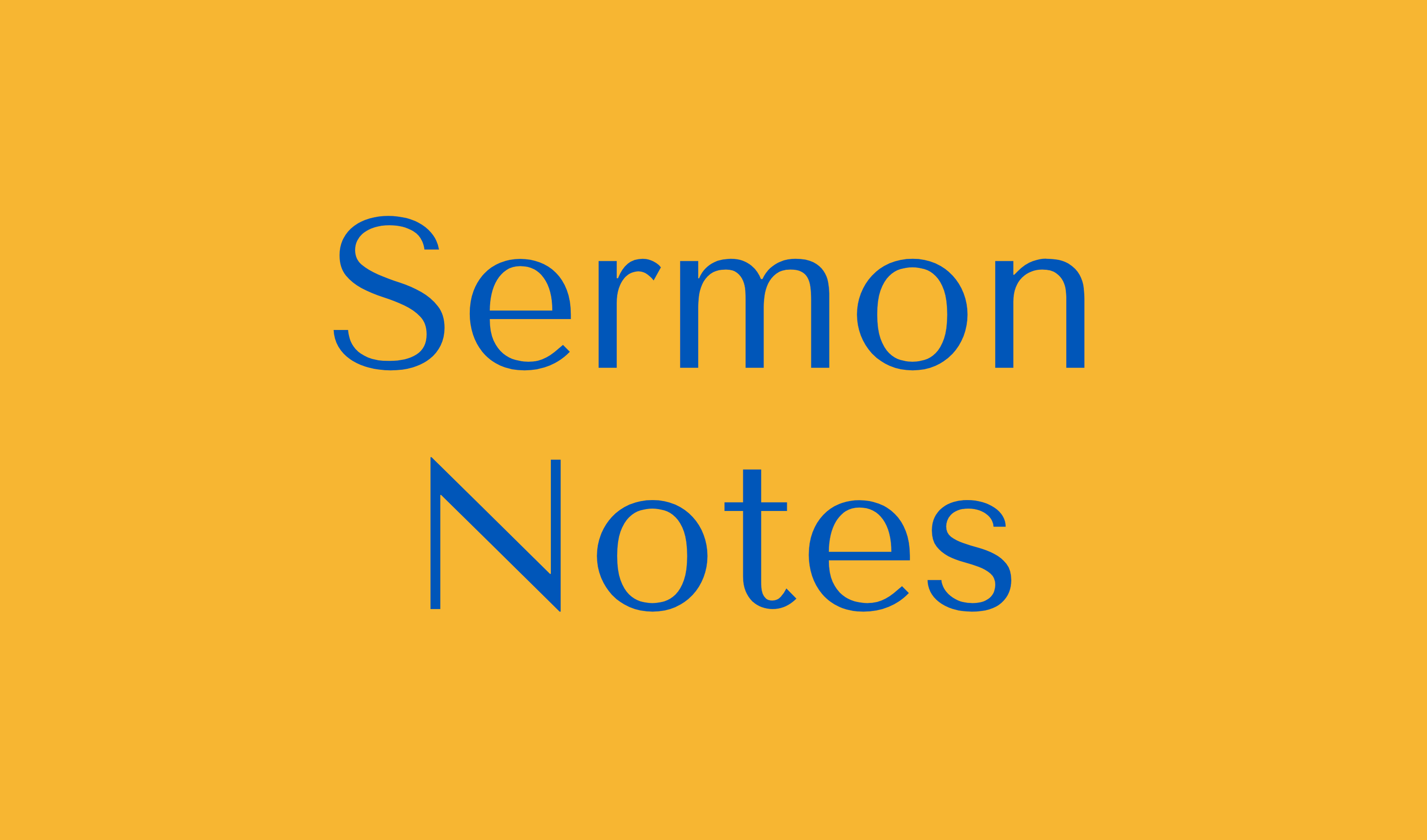 Sermon Notes Button