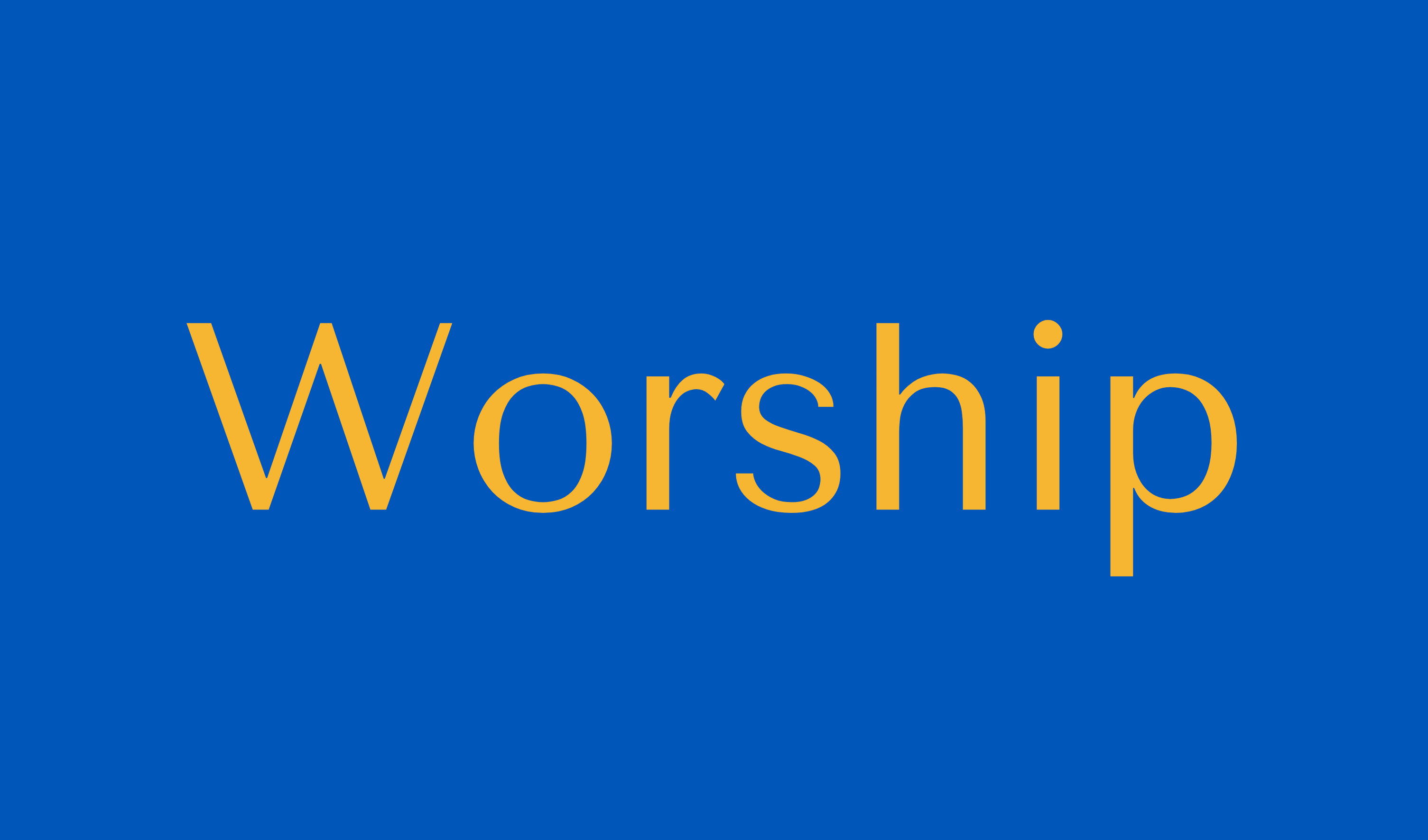 Worship Button