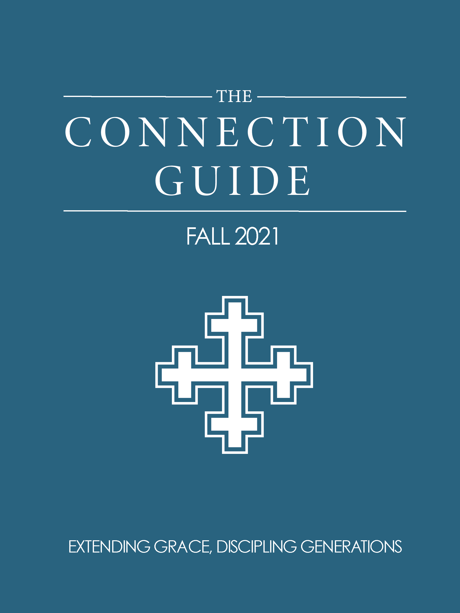 Connection Guide Cover Fall 2021