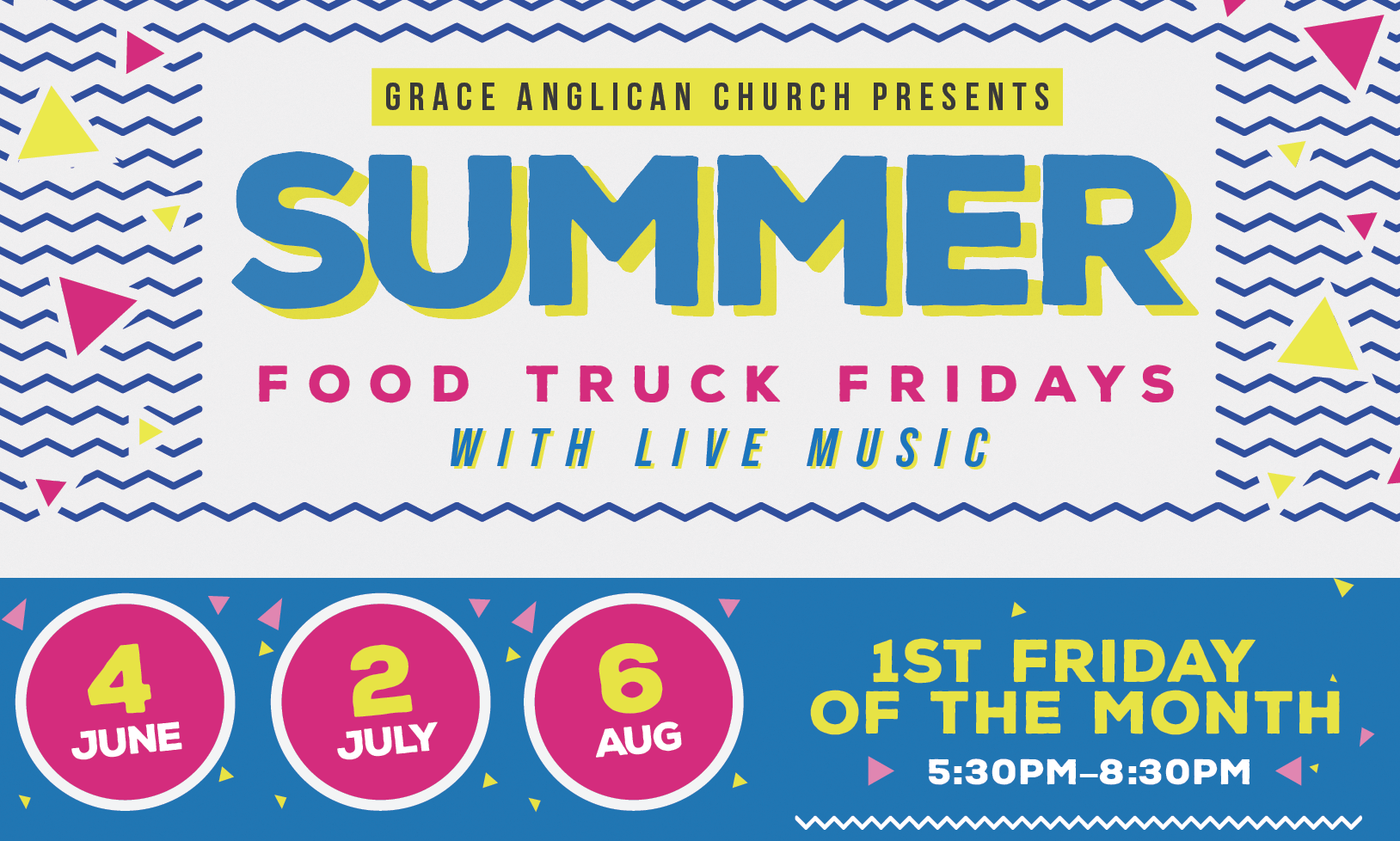 June 4th Food Trucks and Live Music