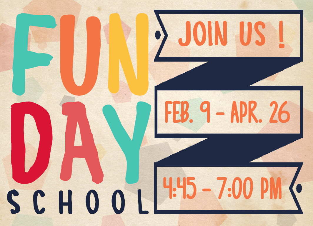 Funday school2020spring