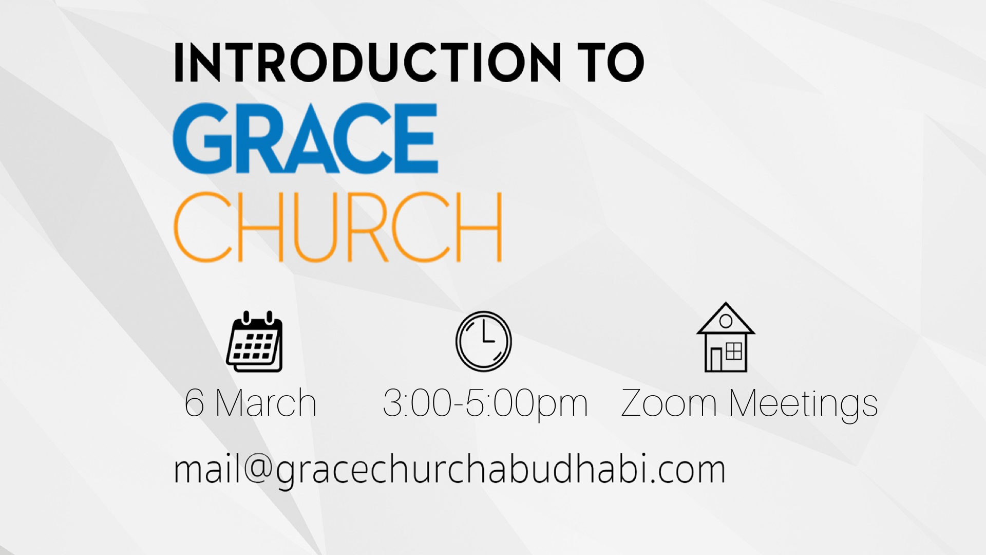 Intro to Grace March image