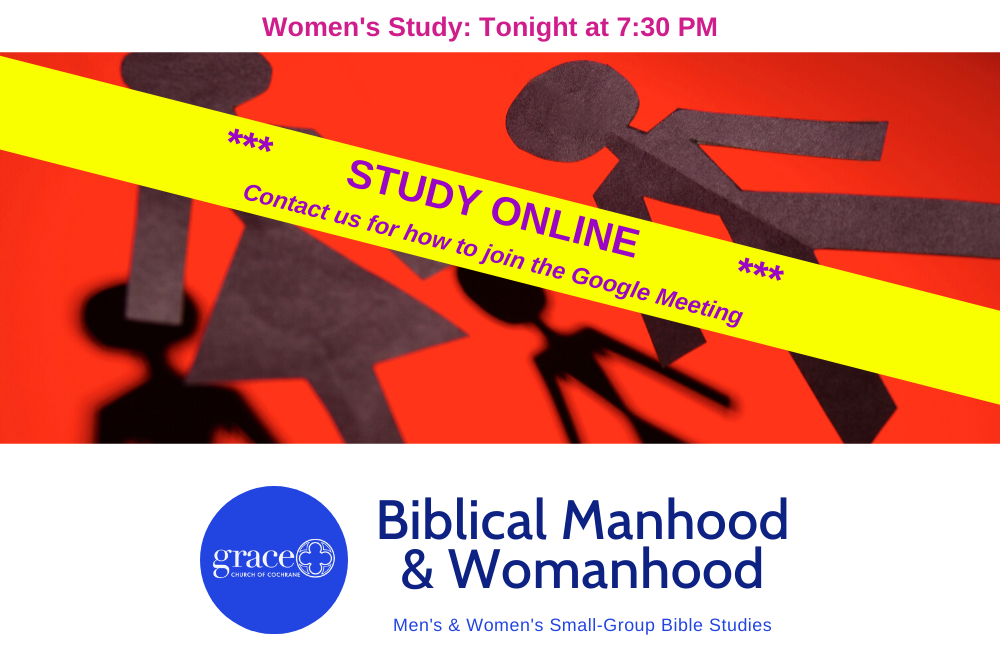 Copy of Online Men's Reminder Biblical Manhood & Womanhood