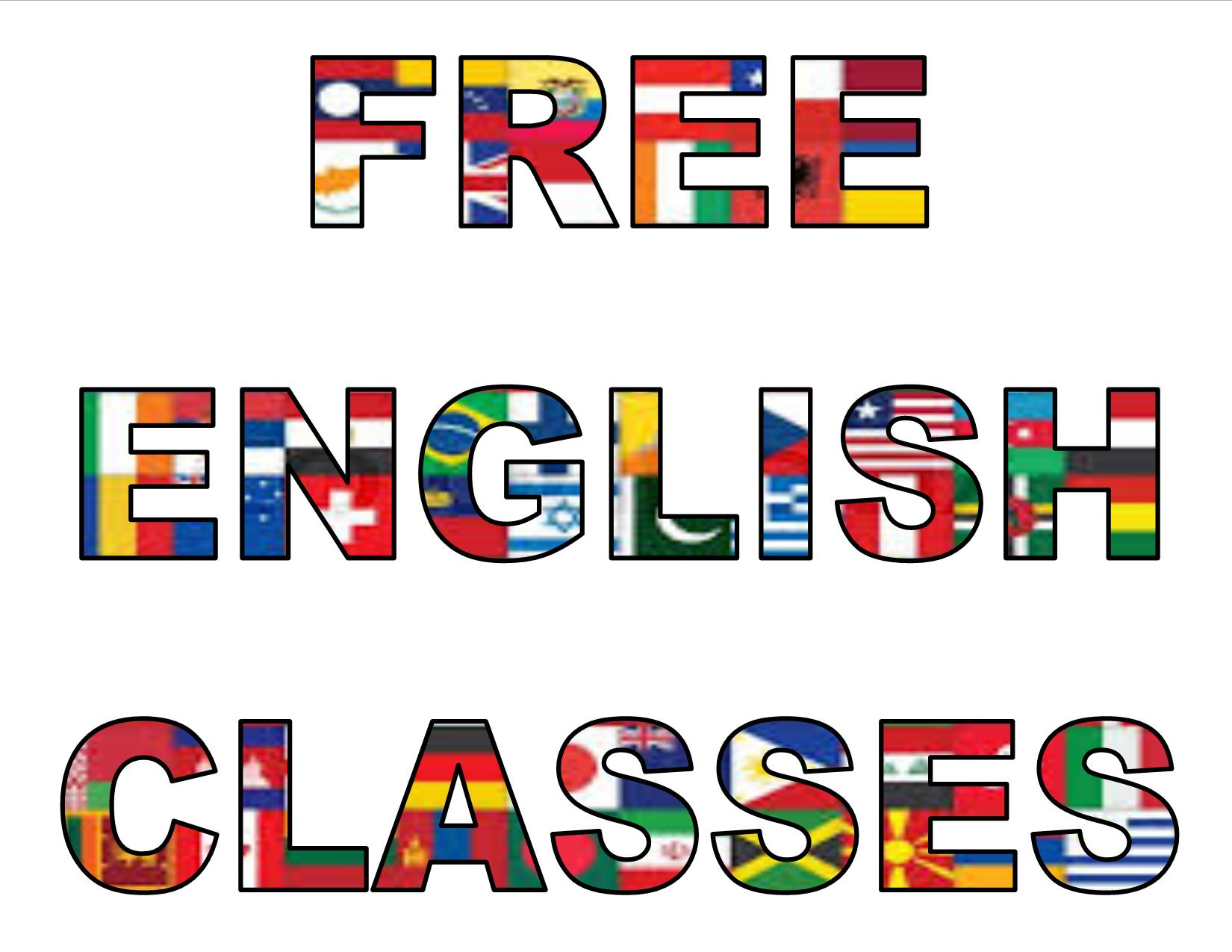 Free English classes pic image
