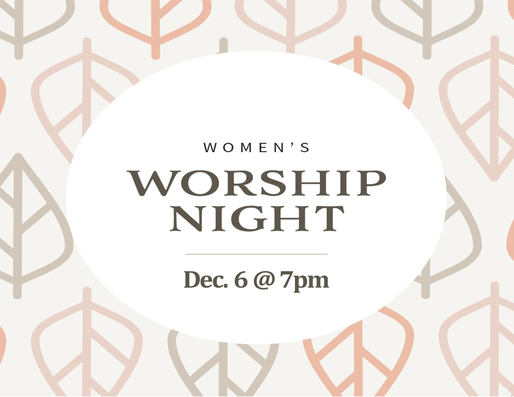 Women's worship night image