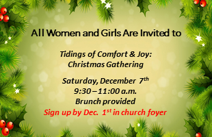 Tidings of Comfort and Joy 2019