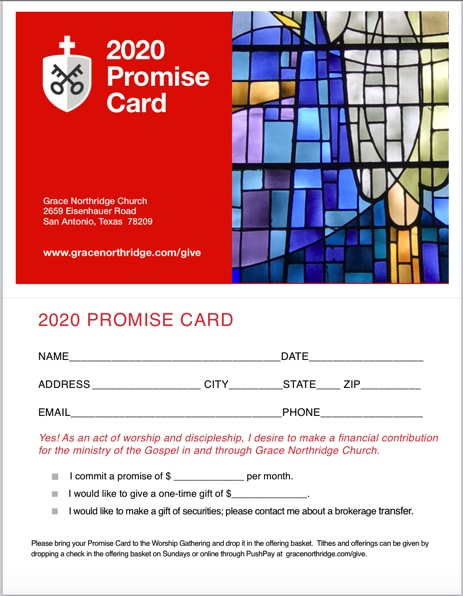 Promise Card - image