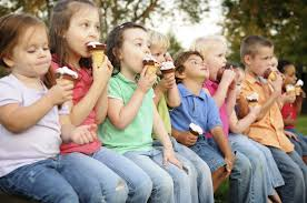 ice cream and kids image