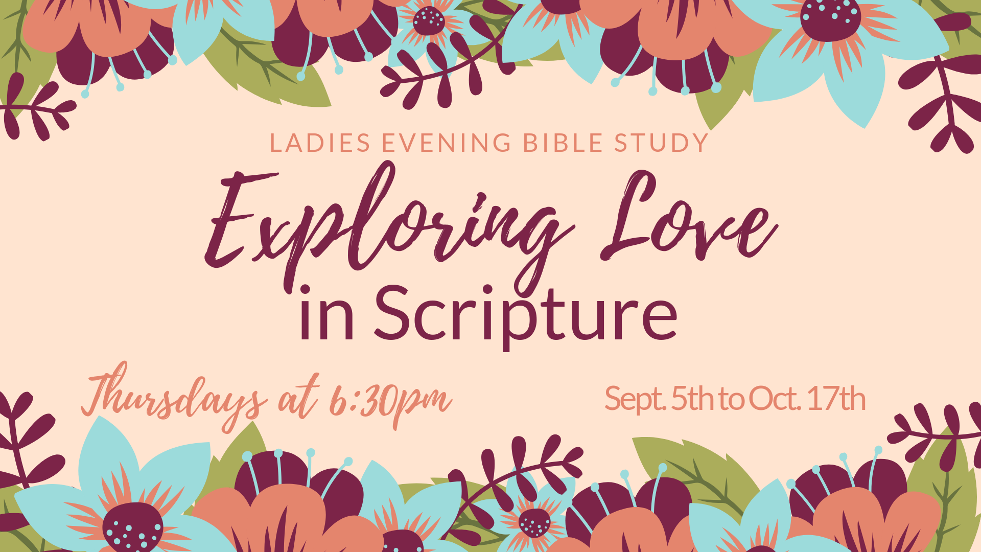 Ladies Bible Study FB Cov image