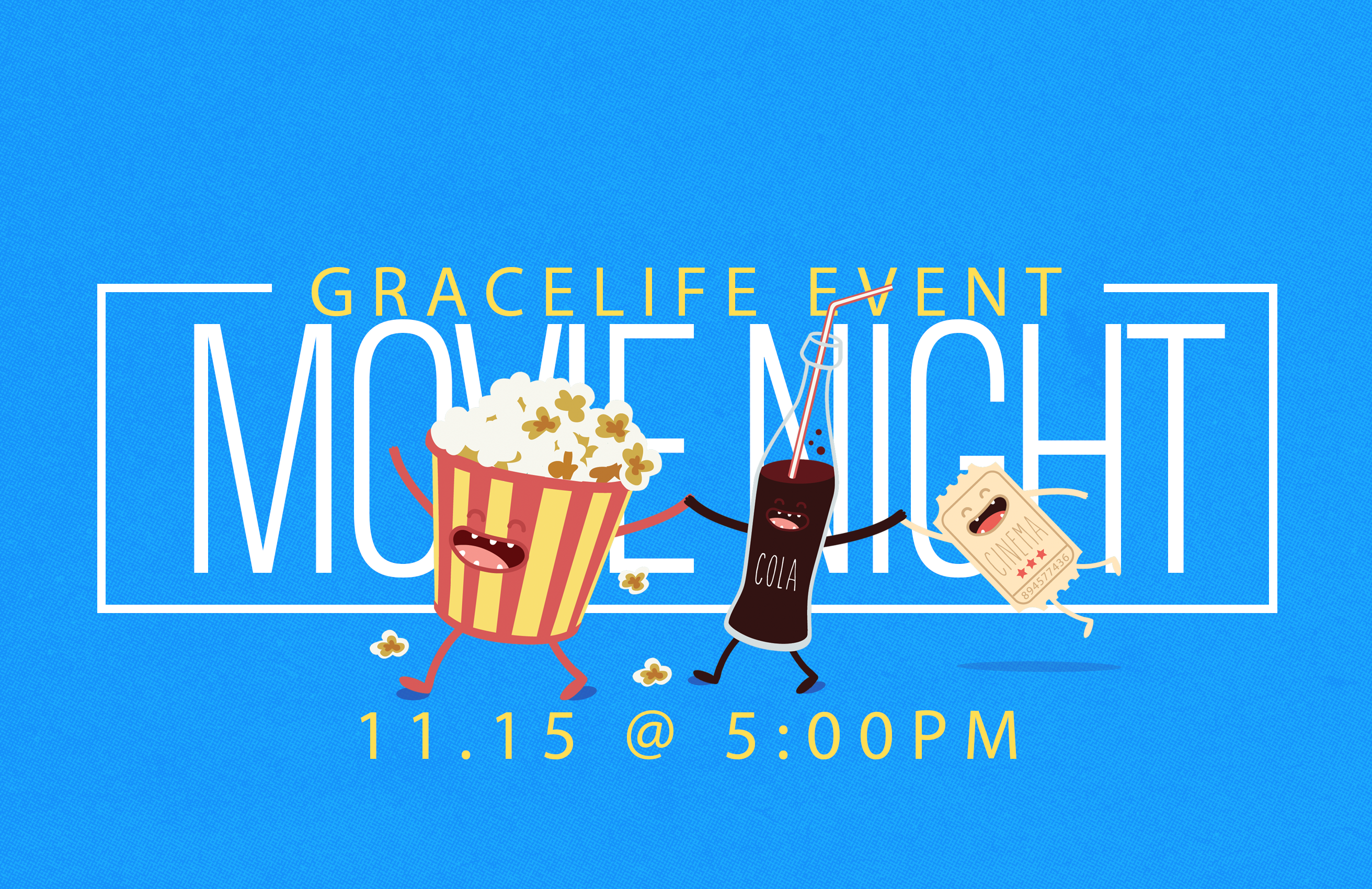 gracelife movie night event