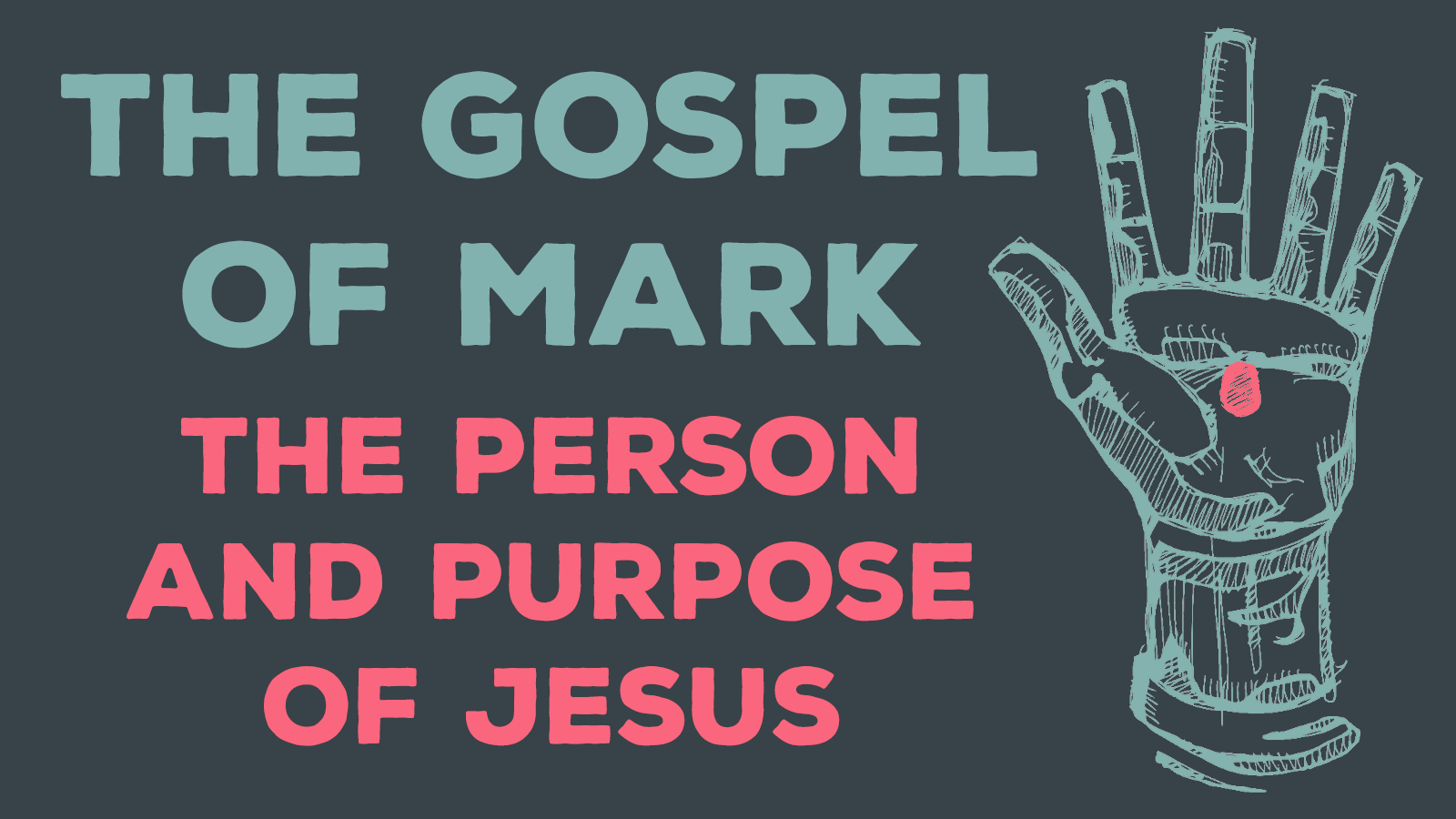 Person and Purpose of Jesus banner