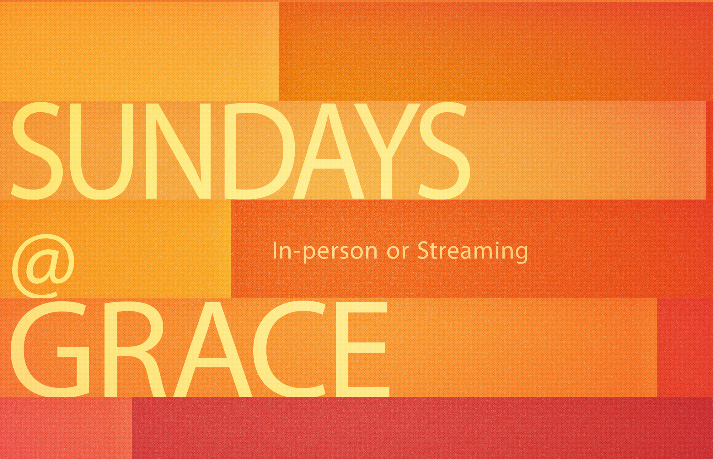 Sundays at Grace