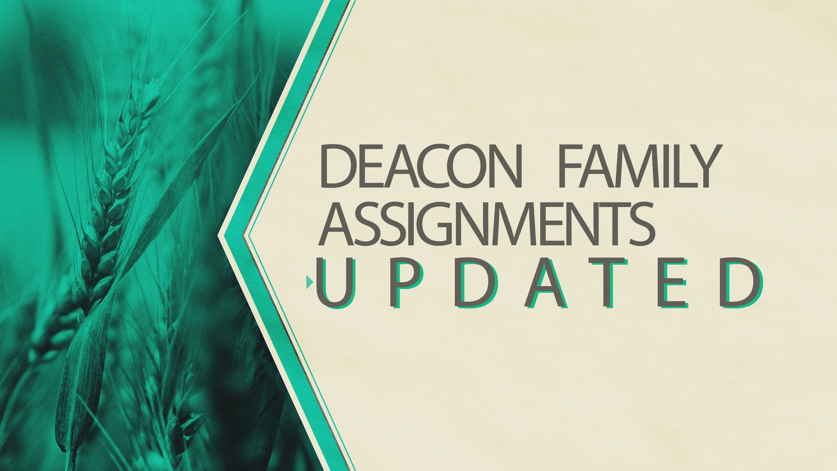 Deacond Family Assign