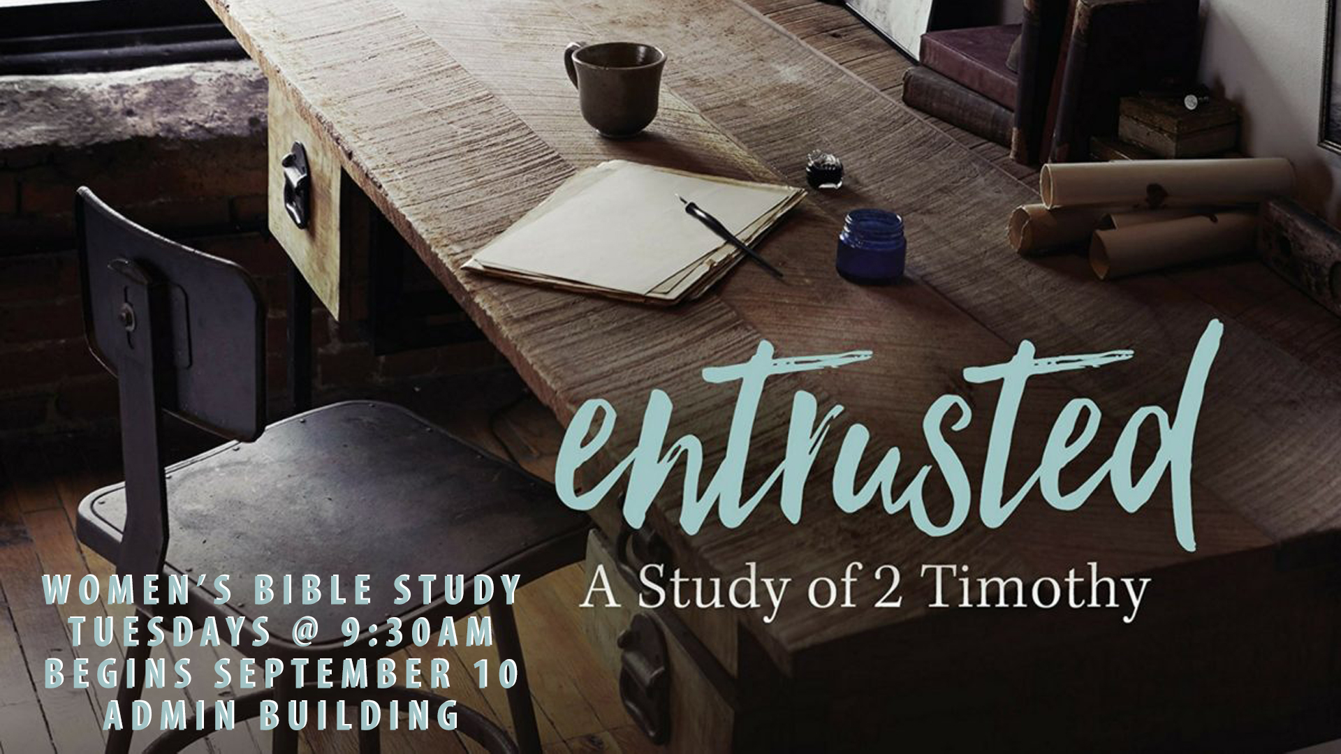 Entrusted Bible Study image