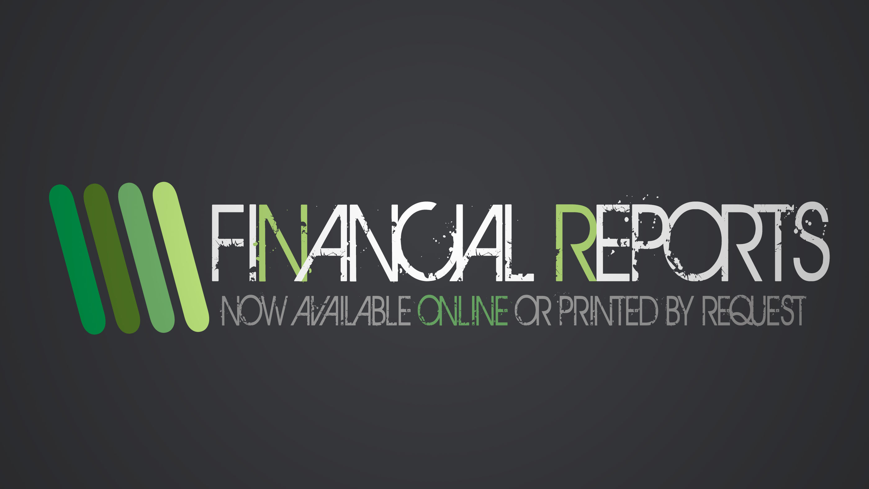 Financial Reports Available