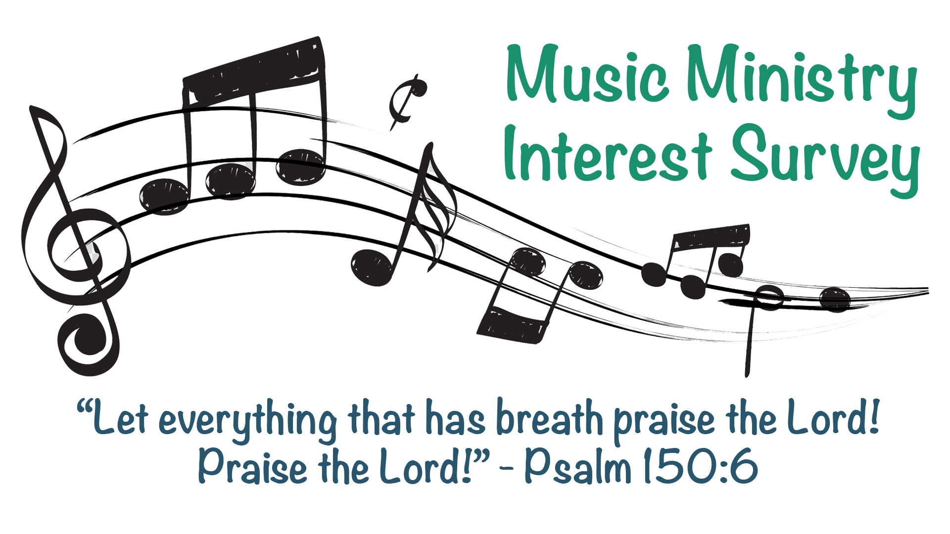 Music Ministry survey graphic