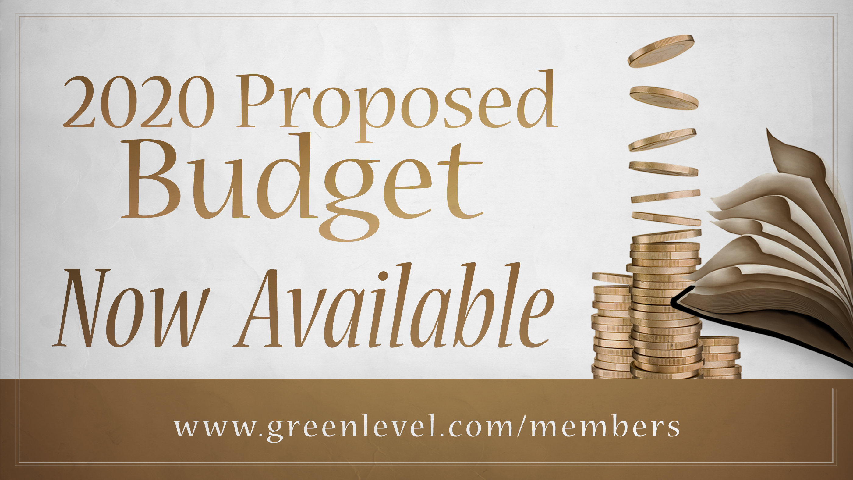 Proposed Budget Available