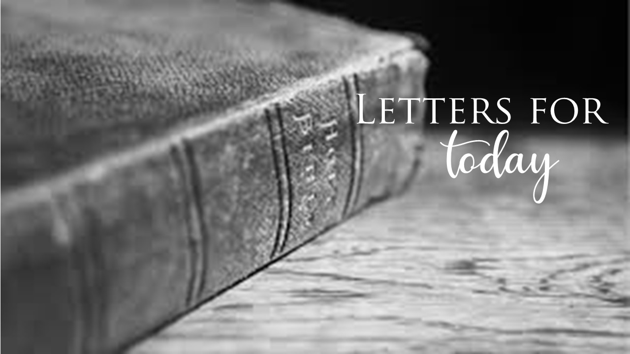 Letters for today Sunday school