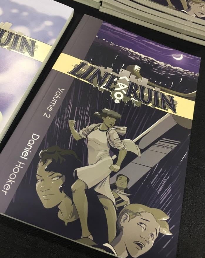 Line of Ruin Book Cover