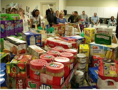 HALO food drive from MaTech