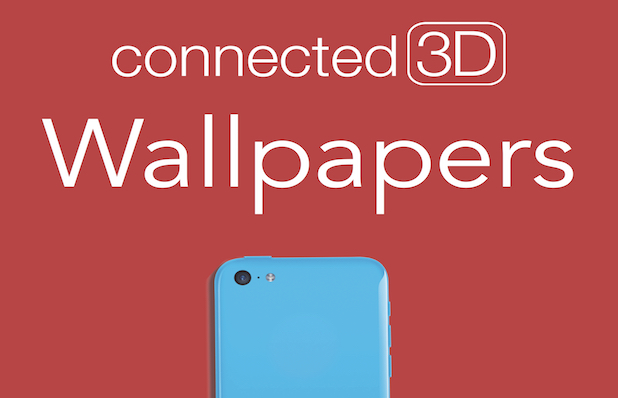 Connected 3D Wallpaper