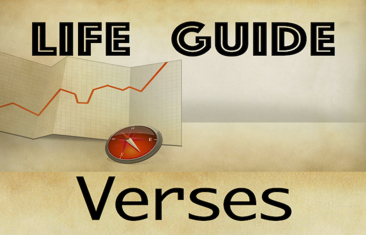 Life Guide Verses - small