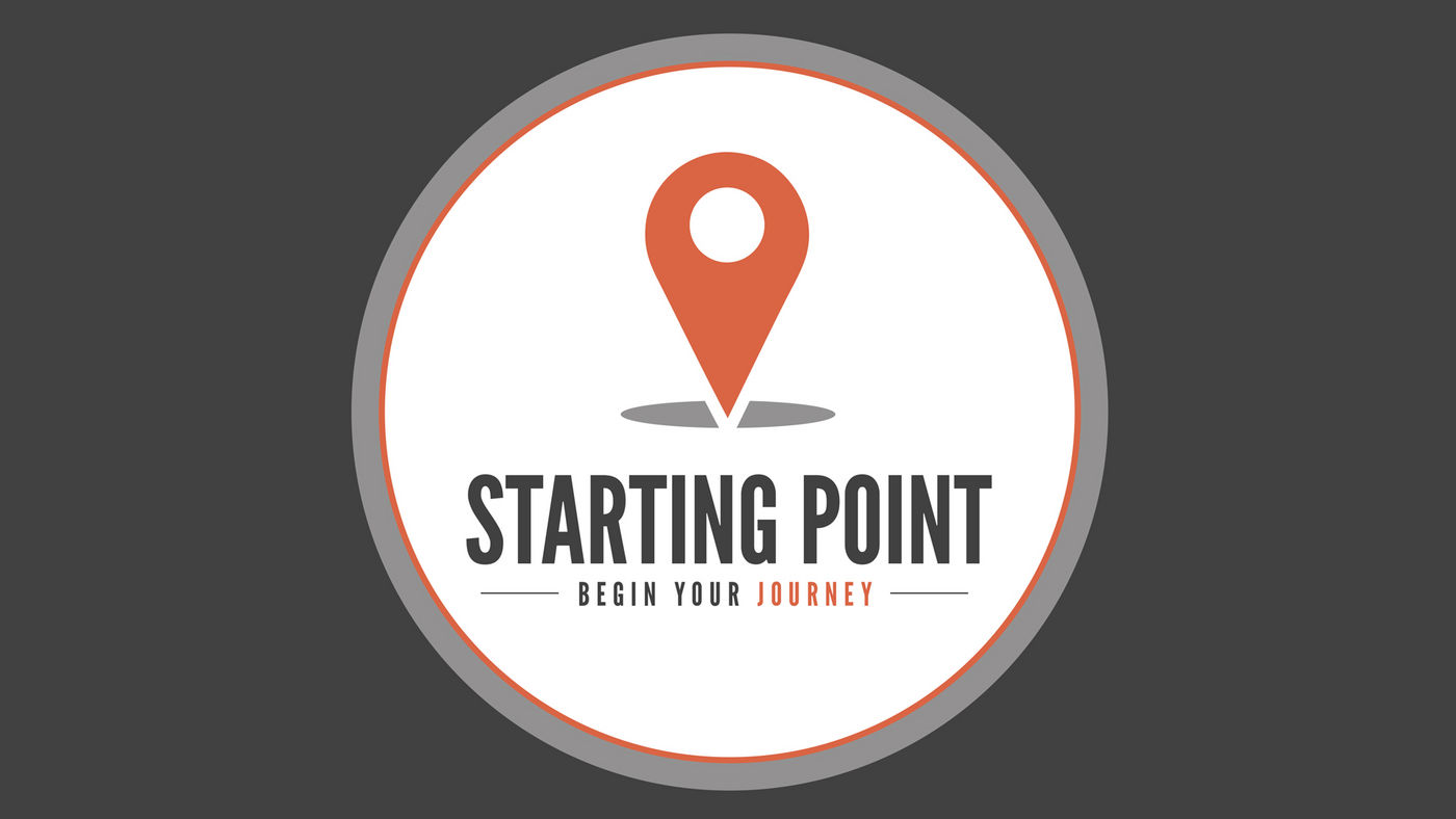 starting point button