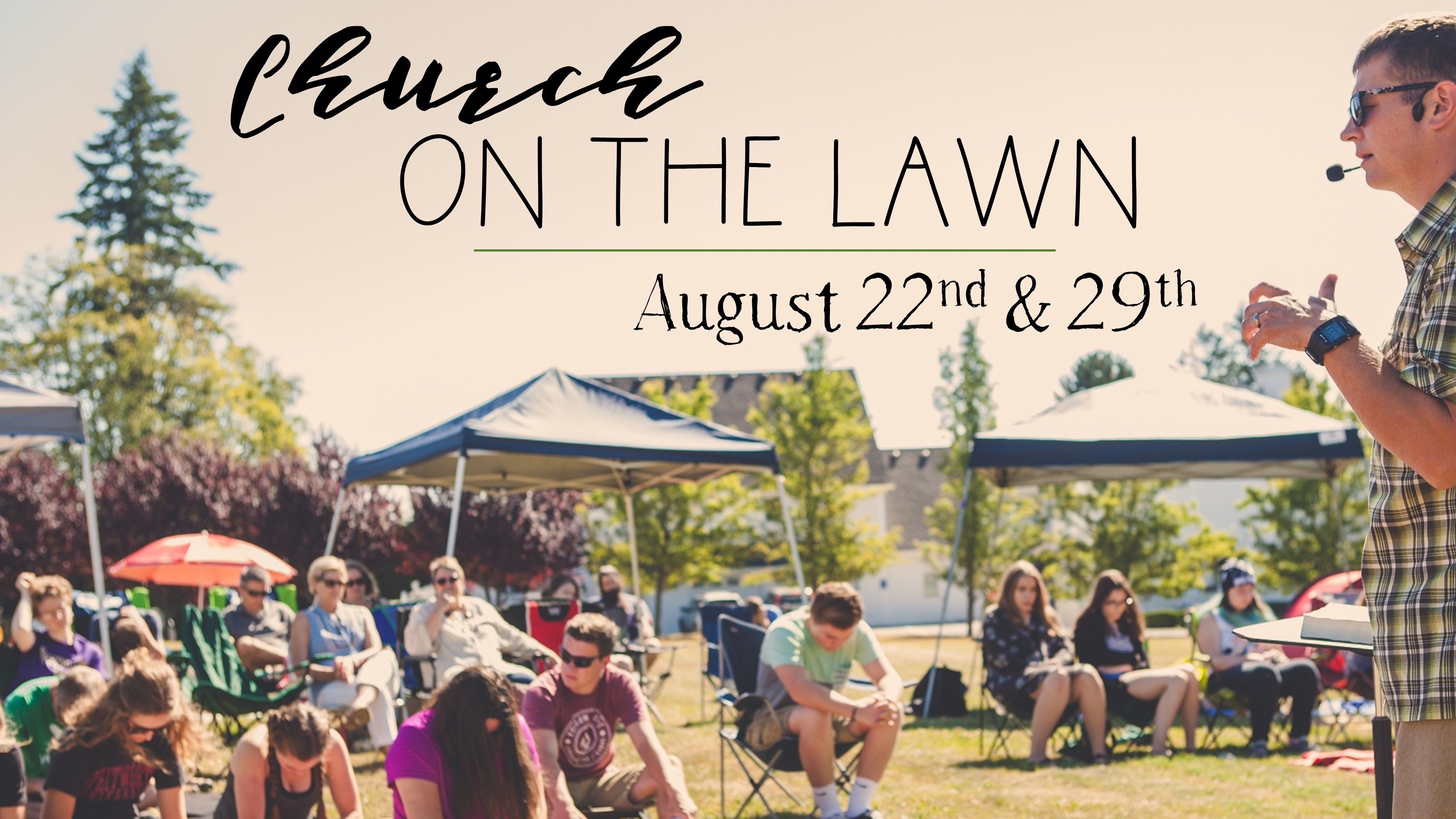 Church on the lawn 2021 image