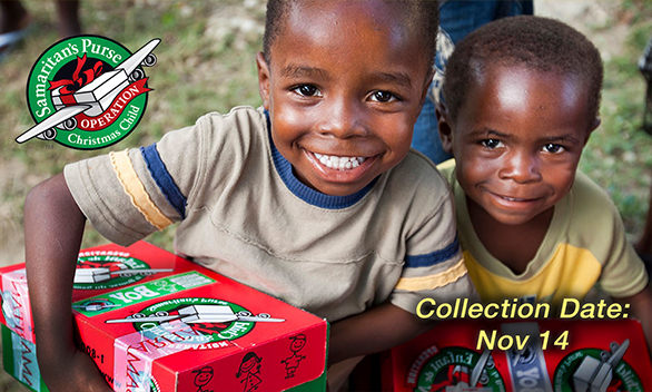 Operation Christmas Child Info here!