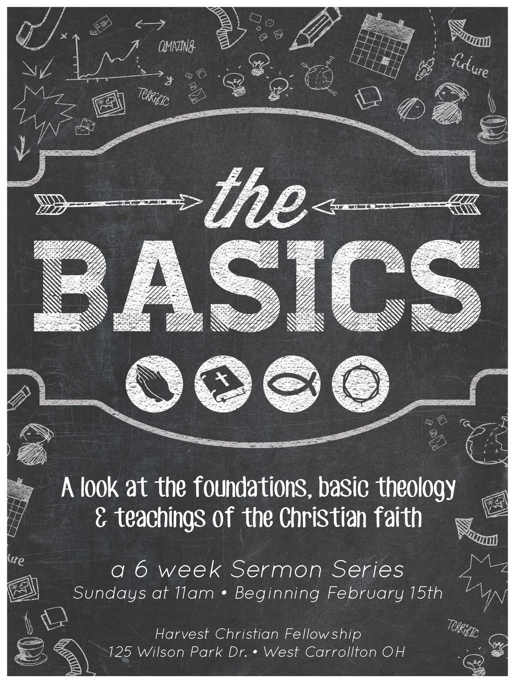 HCF_Sermon Poster_The Basics
