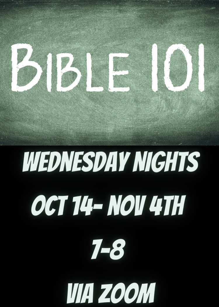 Harvest Students BIBLE 101