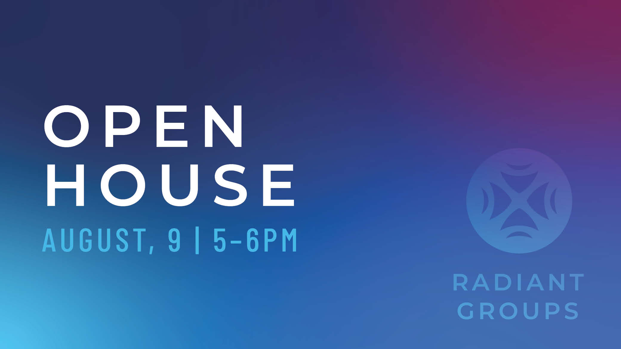 Radiant Groups Open House1 image
