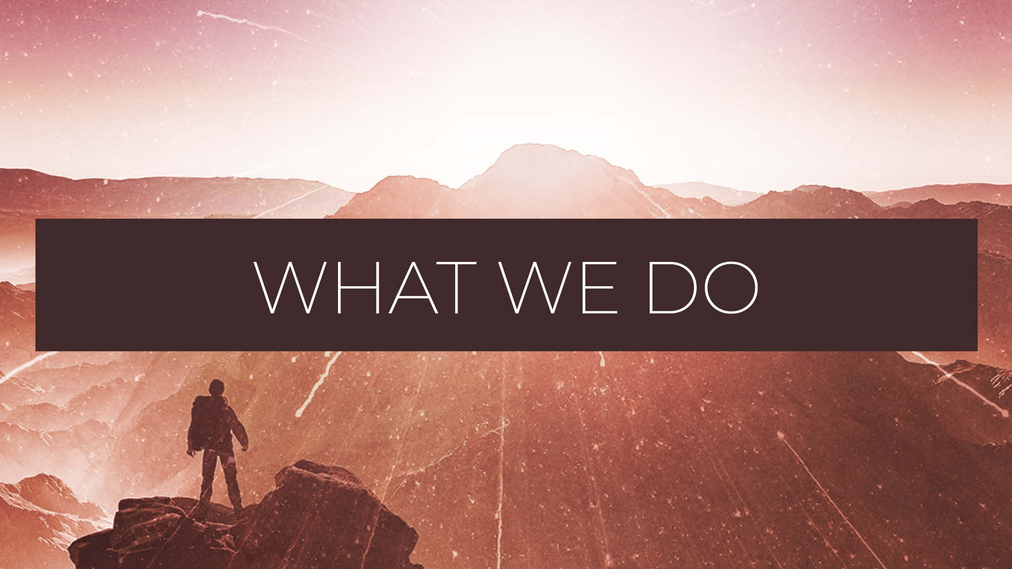 What we do blog