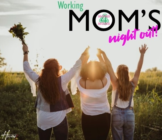 2019 working mom's dinner invite front