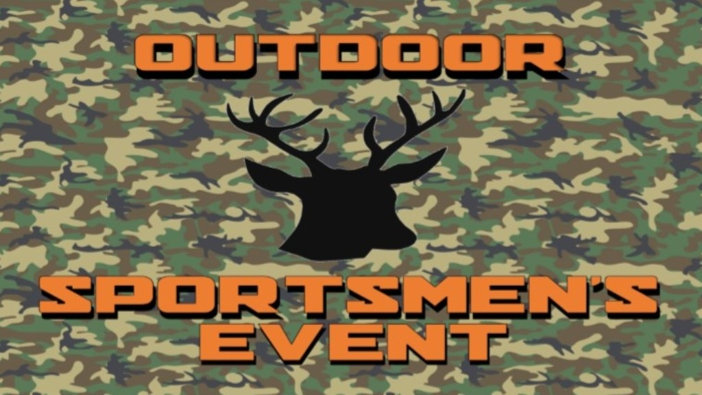 outdoor sportsmen's event