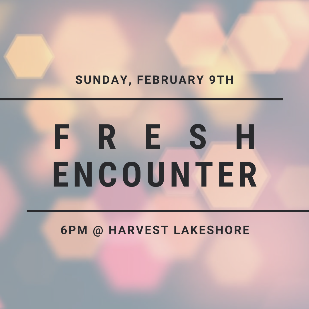 Fresh Encounter Announcement IG image