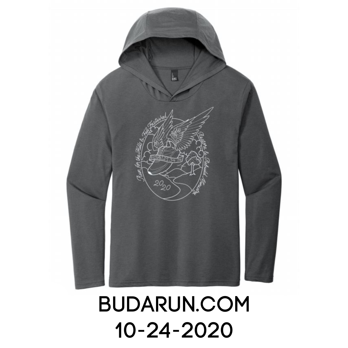 2020 Run for the Hills Shirt ad