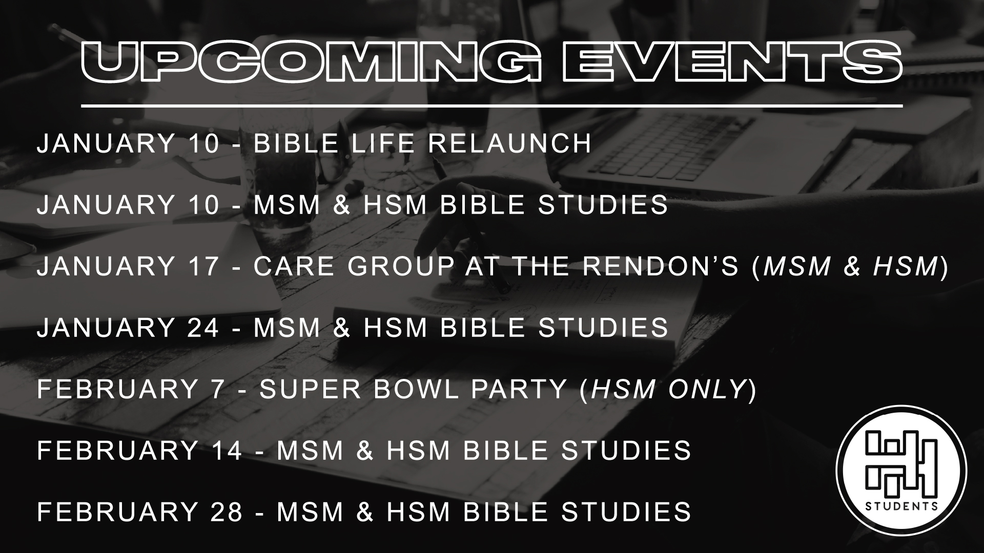 HH STUDENT UPCOMING EVENTS_1a