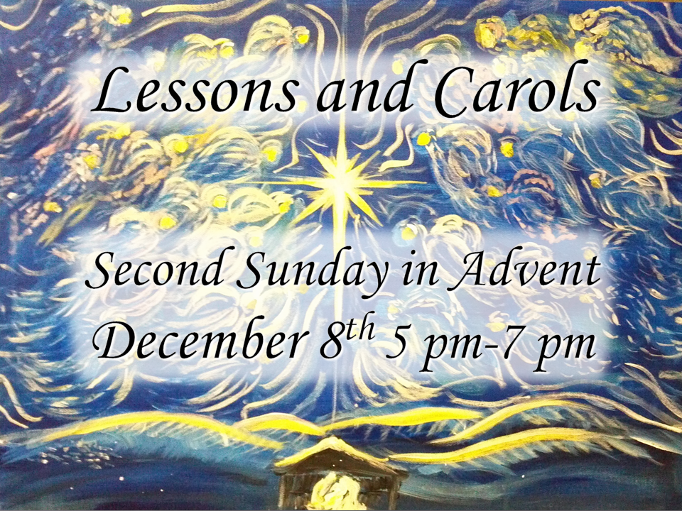 12-08-19 Lessons and Carols image