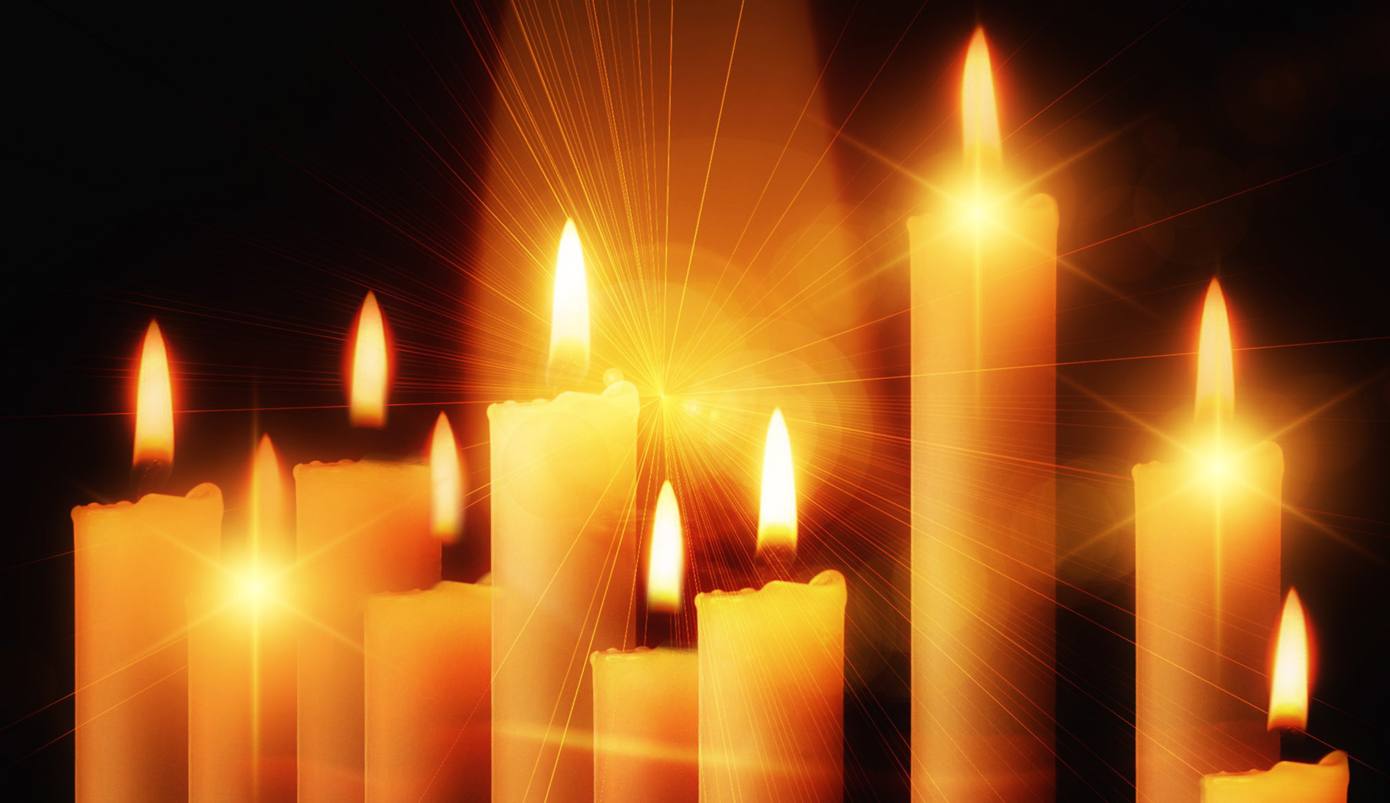 tall-candles-free-christmas-wallpaper image