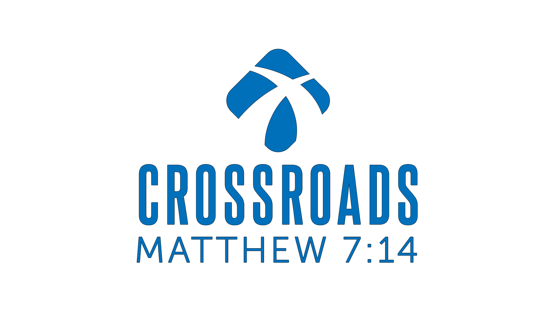 Crossroads Logo With Words