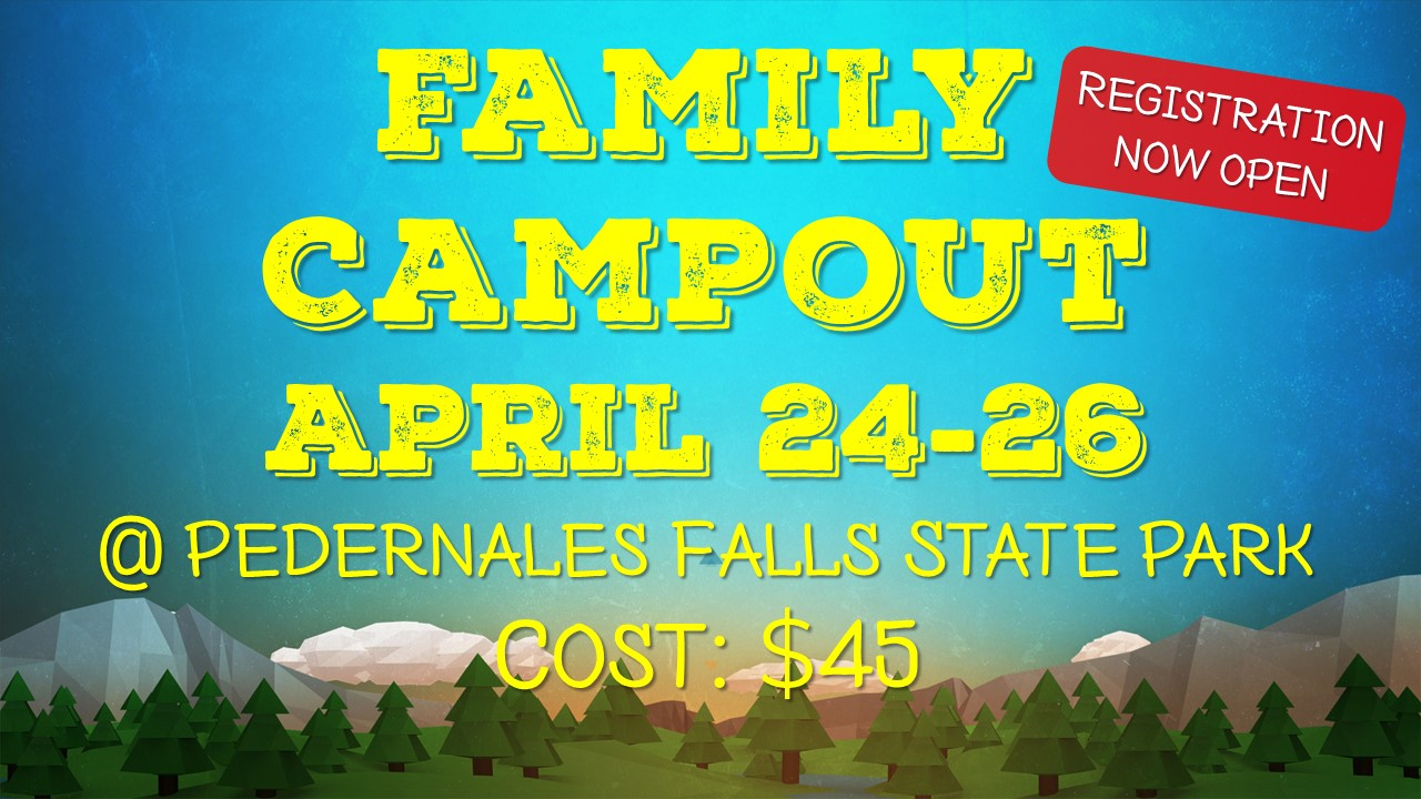 Family Campout Graphic 2020 (Cost $45)
