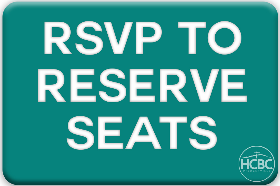rsvp to reserve seats button