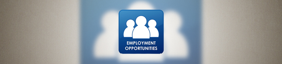 Employment Opportunities banner